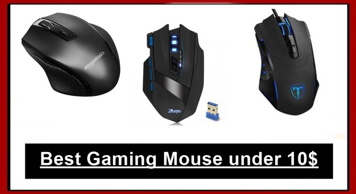 gaming mouse under 10